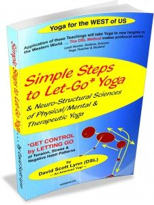 Simple Steps to Let-Go Yoga e-book - basics of hatha yoga poses and let-go yoga therapy