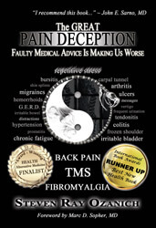 Steve Ozanich's Book on Dr Sarno - doctor sarno back pain relief with joe polish